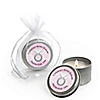 With This Ring - Personalized Bridal Shower Candle Tin Favors