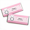 With This Ring - Personalized Bridal Shower Candy Bar Wrapper Favors