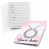 With This Ring - Bridal Shower Fill In Invitations - 8 ct
