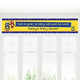 Robots - Personalized Baby Shower Banner