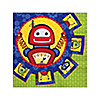 Robots - Baby Shower Beverage Napkins - 16 ct