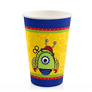 Robots - Baby Shower Hot/Cold Cups - 8 Pack