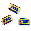 Robots - Personalized Baby Shower Mini Candy Bar Wrapper Favors - 20 ct