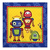 Robots - Baby Shower Luncheon Napkins - 16 Pack