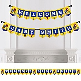 Robots - Personalized Party Bunting Banner & Decorations