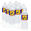 Robots - Personalized Baby Shower Water Bottle Label Favors