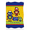 Robots - Personalized Birthday Party Thank You Cards