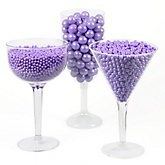 Purple - Round Candy Kit for Baby Showers