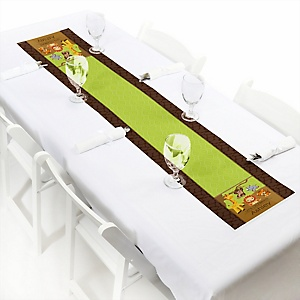 Funfari™ - Fun Safari Jungle - Personalized Baby Shower Petite Table Runners