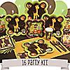Funfari™ - Fun Safari Jungle - 16 Person Party Kit