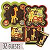 Funfari™ - Fun Safari Jungle - Baby Shower 32 Big Dot Bundle