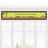 Funfari™ - Fun Safari Jungle - Personalized Baby Shower Banner