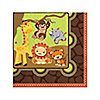 Funfari™ - Fun Safari Jungle - Baby Shower Beverage Napkins - 16 ct