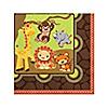 Funfari™ - Fun Safari Jungle - Baby Shower Beverage Napkins - 16 ct