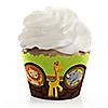 Funfari™ - Fun Safari Jungle - Baby Shower Cupcake Wrappers