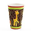 Funfari™ - Fun Safari Jungle - Baby Shower Hot/Cold Cups - 8 ct