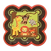 Funfari™ - Fun Safari Jungle - Baby Shower Dessert Plates - 8 Pack