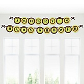 Funfari™ - Fun Safari Jungle - Personalized Baby Shower Garland Banner
