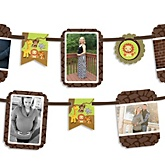 Funfari™ - Fun Safari Jungle - Baby Shower Photo Bunting Banner