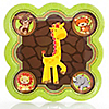 Funfari™ - Fun Safari Jungle - Baby Shower Dinner Plates - 8 ct