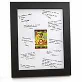 Funfari™ - Fun Safari Jungle - Personalized Baby Shower Print with Signature Mat