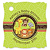 Funfari™ - Fun Safari Jungle  - Personalized Baby Shower Tags - 20 ct