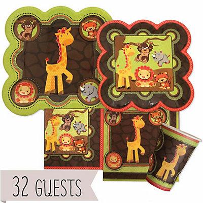 Funfari™ - Fun Safari Jungle - Birthday Party 32 Big Dot Bundle | BigDotOfHappiness.com