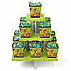 Funfari™ - Fun Safari Jungle - Birthday Party Candy Stand and 13 Candy Boxes