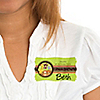 Funfari™ - Fun Safari Jungle - Personalized Birthday Party Name Tag Stickers - 8 ct