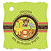 Funfari™ - Fun Safari Jungle - Personalized Birthday Party Tags - 20 ct
