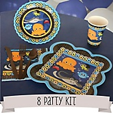 Under The Sea Critters - 8 Person Baby Shower Kit