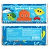 Under The Sea Critters - Personalized Baby Shower Candy Bar Wrapper