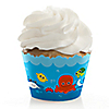Under The Sea Critters - Baby Shower Cupcake Wrappers