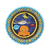 Under The Sea Critters - Baby Shower Dessert Plates - 8 Pack