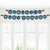 Under The Sea Critters - Personalized Baby Shower Garland Letter Banners