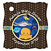 Under The Sea Critters - Personalized Baby Shower Tags - 20 ct