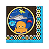 Under The Sea Critters - Birthday Party Beverage Napkins - 16 ct