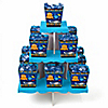 Under The Sea Critters - Birthday Party Candy Stand and 13 Candy Boxes