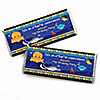 Under The Sea Critters - Personalized Birthday Party Candy Bar Wrapper Favors