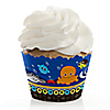 Under The Sea Critters - Birthday Party Cupcake Wrappers