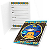 Under The Sea Critters - Birthday Party Fill In Invitations - 8 ct