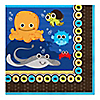 Under The Sea Critters - Birthday Party Luncheon Napkins - 16 ct