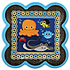 Under The Sea Critters - Birthday Party Dinner Plates - 8 ct