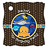 Under The Sea Critters - Personalized Birthday Party Tags - 20 ct
