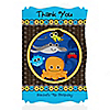 Under The Sea Critters - Personalized Birthday Party Thank You Cards