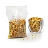 Gold - Shimmer Pearls - Baby Shower Candy - 2 lbs