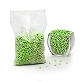 Green - Shimmer Pearls - Baby Shower Candy - 2 lbs