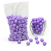 Purple - Shimmer One Inch Gumballs - Baby Shower Candy - 2 lbs