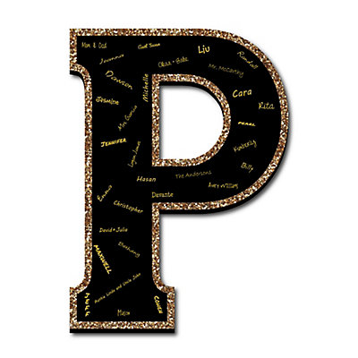 Guestbook | Board | Party | Black | Sign | Gold
