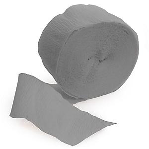 Gray/Silver - Baby Shower Streamer